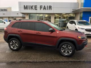 Used 2019 Jeep Cherokee Trailhawk Auto Delay Off Headlamps, Driver Assisted Parking Assist,6 Total Speakers for sale in Smiths Falls, ON