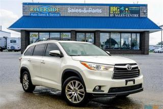 Used 2016 Toyota Highlander XLE - Backup Cam - Sunroof - Heated Seats for sale in Guelph, ON