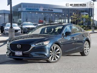 Used 2018 Mazda MAZDA6 GT 0.99% FINANCE AVAILABLE| ONE OWNER| 2.5L TURBO for sale in Mississauga, ON