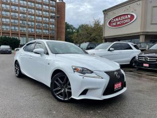 Used 2015 Lexus IS 350 F SPORTS PKG | NAVI | CAM | ROOF | BLUETOOTH for sale in Scarborough, ON