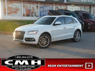 Used 2015 Audi Q5 3.0T quattro Technik for sale in St. Catharines, ON
