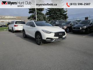 Used 2018 Infiniti QX30 Essential/ProACTIVE AWD  -  Heated Seats for sale in Ottawa, ON