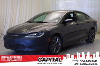 Used 2016 Chrysler 200 S*LEATHER*SUNROOF* for sale in Regina, SK