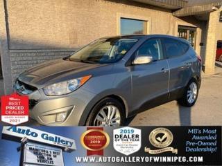 Used 2010 Hyundai Tucson Limited* Dual-Pane Sunroof/AWD/Heated Seats for sale in Winnipeg, MB