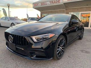 Used 2019 Mercedes-Benz CLS-Class CLS53 AMG AWD RED INTERIOR NAVI BCAM LANE AST for sale in Calgary, AB