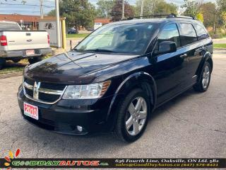 Used 2010 Dodge Journey R/T|LOW KM|NO ACCIDENT|AWD|REMOTE START|CERTIFIED for sale in Oakville, ON