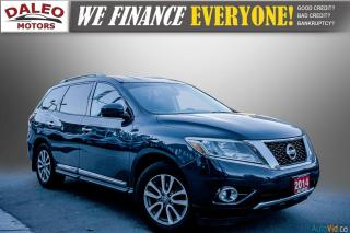 Used 2014 Nissan Pathfinder SL / 7 PASSENGERS / LEATHER / NAVI/ BACK UP CAMERA for sale in Hamilton, ON