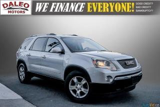 Used 2012 GMC Acadia SLE2 / 7 PASSENGERS / REAR AIR A/C / BACK UP CAM / for sale in Hamilton, ON