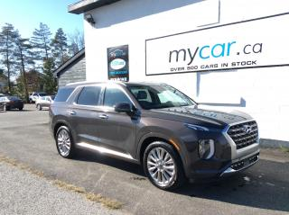 Used 2020 Hyundai PALISADE Ultimate 7 Passenger LEATHER. NAV. SUNROOF. HEATED SEATS. BACKUP CAM. for sale in Richmond, ON