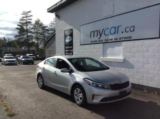 Used 2018 Kia Forte LX A/C. POWER GROUP. BLUETOOTH. for sale in North Bay, ON