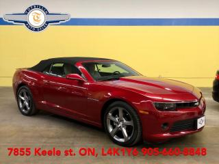 Used 2014 Chevrolet Camaro 2LT RS Package, HUD, B Cam, Only 32K km for sale in Vaughan, ON