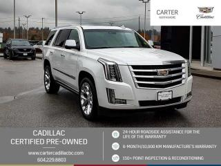 Used 2016 Cadillac Escalade Premium Collection NAVIGATION - MOONROOF - DVD PKG for sale in North Vancouver, BC