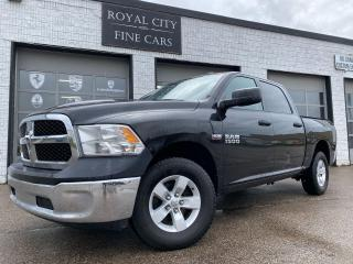 Used 2016 RAM 1500 ST 4X4 HEMI CREW CAB/ LOW KM/ CERTFIED for sale in Guelph, ON