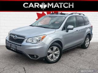 Used 2015 Subaru Forester i TOURING / SUNROOF /  AWD / NO ACCIDENTS for sale in Cambridge, ON