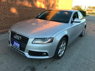 Used 2009 Audi A4 quattro for sale in Oakville, ON