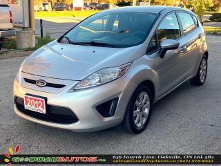 Used 2012 Ford Fiesta SE AVG KM BLUETOOTH WARRANTY CERTIFIED for sale in Oakville, ON