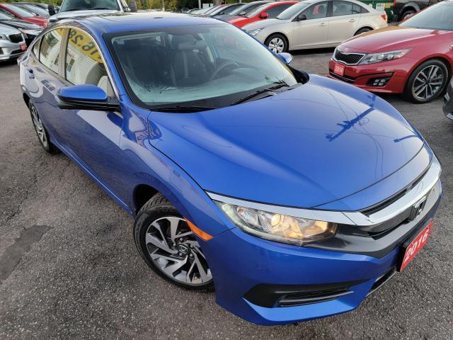 2016 Honda Civic EX/CAMERA/ROOF/LOADED/ALLOYS/ CLEAN CAR FAX