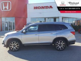 Used 2019 Honda Pilot Touring 7-Passenger Leather - Navi - DVD - Sunroof Heated Seats - Bluetooth for sale in Winnipeg, MB