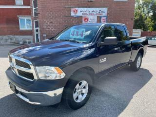 Used 2017 RAM 1500 ST/3.6L/4X4/ONE OWNER/NO ACCIDENTS/SAFETY INCLUDED for sale in Cambridge, ON