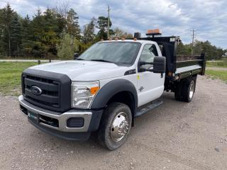 Used 2015 Ford F-550 Chassis XL Hydraulic Dump Box for sale in King, ON