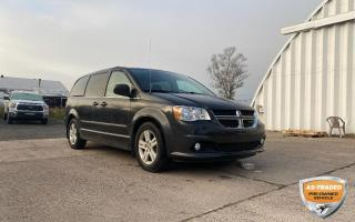 Used 2011 Dodge Grand Caravan Crew YOU SAFETY, YOU SAVE!!! for sale in Sault Ste. Marie, ON