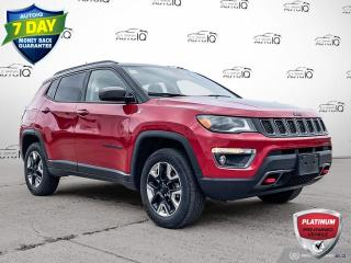 Used 2018 Jeep Compass Trailhawk JUST ARRIVED | LOCAL TRADE | TRAILHAWK | LOADED | for sale in Sault Ste. Marie, ON