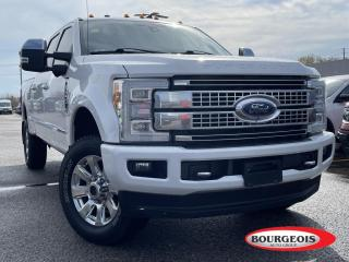 Used 2017 Ford F-250 Platinum HEATED LEATHER SEATS, NAVIGATION for sale in Midland, ON