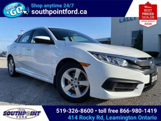 Used 2018 Honda Civic LX (CVT)|CRUISE CONTROL|BLUETOOTH|HTD SEATS| for sale in Leamington, ON