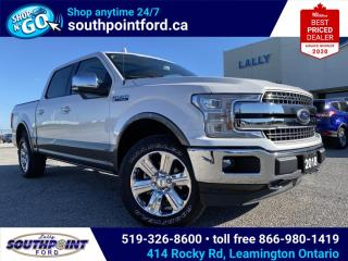 Used 2018 Ford F-150 Lariat LARIAT|4X4|NAV|FRONT & BACK HTD SEATS|MOONROOF|BEDLINER| for sale in Leamington, ON
