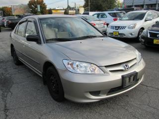 Used 2004 Honda Civic DX-G for sale in Vancouver, BC