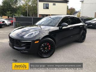 Used 2018 Porsche Macan GTS PREM. PKG +  LED IGHTS  18-WAY SPORT SEATS  CH for sale in Ottawa, ON