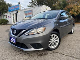 Used 2017 Nissan Sentra 4dr Sdn SV * SUNROOF*ONE OWNER* NO ACCIDENTS for sale in Brampton, ON