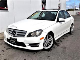 Used 2013 Mercedes-Benz C-Class C300 4MATIC-SUNROOF-LEATHER-ONLY 115KMS-CERTIFIED for sale in Toronto, ON