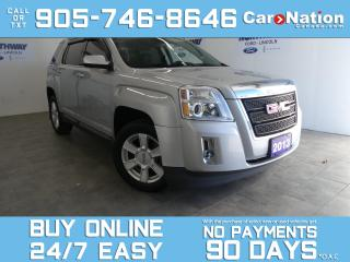 Used 2013 GMC Terrain SLE | TOUCHSCREEN | REAR CAM | WOW ONLY 74 KM! for sale in Brantford, ON