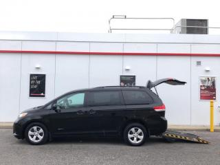 Used 2014 Toyota Sienna LE-MOBILITY WHEELCHAIR VAN-BACKUP CAMERA-CERTIFIED for sale in Toronto, ON