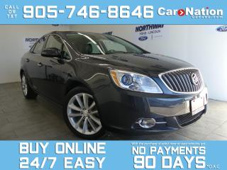 Used 2015 Buick Verano LEATHER | TOUCHSCREEN | ONLY 29 KM | 1 OWNER for sale in Brantford, ON