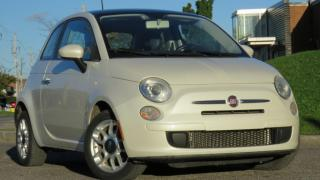Used 2012 Fiat 500 Pop/moonroof for sale in North York, ON