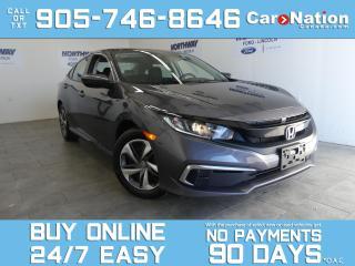Used 2019 Honda Civic Sedan LX | 6 SPEED M/T | LANE DEPARTURE | TOUCHSCREEN for sale in Brantford, ON