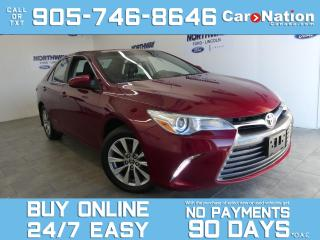 Used 2017 Toyota Camry XLE | LEATHER | SUNROOF | NAV | ONE OWNER for sale in Brantford, ON