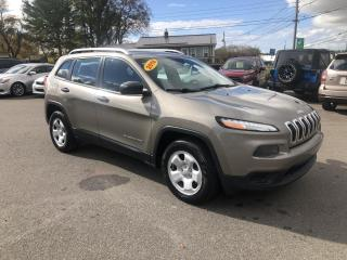 Used 2016 Jeep Cherokee SPORT 4WD for sale in Truro, NS
