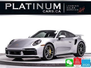 Used 2021 Porsche 911 Turbo S,640HP,CARBON CERAMIC BRAKES,SPORT CHRONO for sale in Toronto, ON