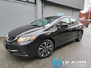 Used 2014 Honda Civic EX for sale in Richmond, BC