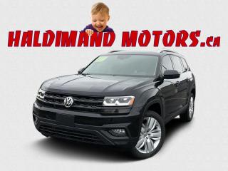 Used 2018 Volkswagen Atlas Execline AWD for sale in Cayuga, ON