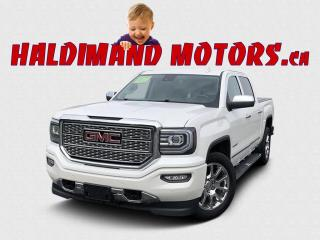 Used 2017 GMC Sierra 1500 Denali CREW 4WD for sale in Cayuga, ON