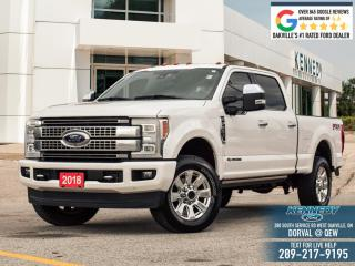 Used 2018 Ford F-250 Super Duty SRW Platinum for sale in Oakville, ON
