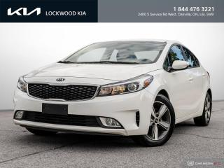 Used 2018 Kia Forte LX+ Auto - ONE OWNER | CLEAN CARFAX for sale in Oakville, ON