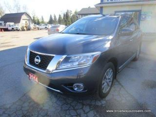 Used 2014 Nissan Pathfinder FOUR-WHEEL DRIVE SL-EDITION 7 PASSENGER 3.5L - V6.. BENCH & THIRD ROW.. LEATHER.. HEATED SEATS & WHEEL.. BACK-UP CAMERA.. POWER TAILGATE.. for sale in Bradford, ON