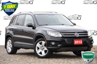 Used 2013 Volkswagen Tiguan 2.0 TSI Trendline LOW KMS | 4WD | LEATHER | HEATED SEATS for sale in Kitchener, ON