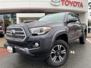 Used 2017 Toyota Tacoma 4x4 Double Cab V6 TRD Sport 6M for sale in Surrey, BC
