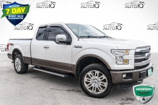 Used 2015 Ford F-150 Lariat HEATED SEATS!!! LEATHER!!! 5.0L V8!!! for sale in Barrie, ON